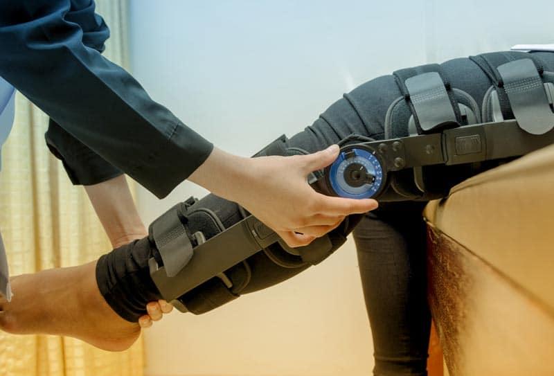 Закрепленное колено