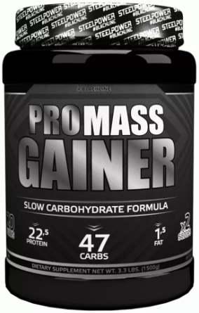 Добавка в черной упаковке STEEL POWER Gainer