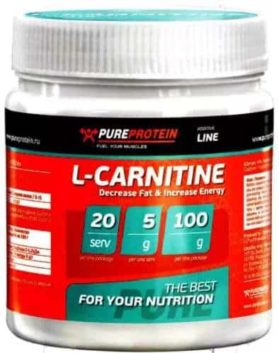 Карнитин PureProtein L-Carnitine