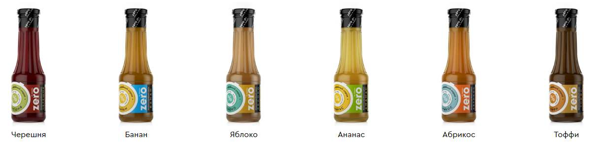 Вкусные сиропы