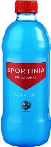 Бутылка пол литра Sportinia BCAA