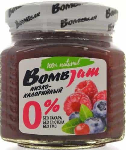 Джем со вкусом лесных ягод