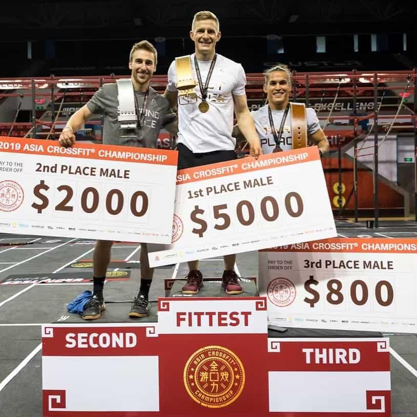 asia crossfit championship-2019-men