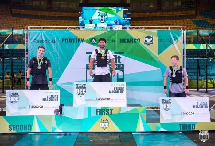 Brazil CrossFit Championship - победители среди мужчин