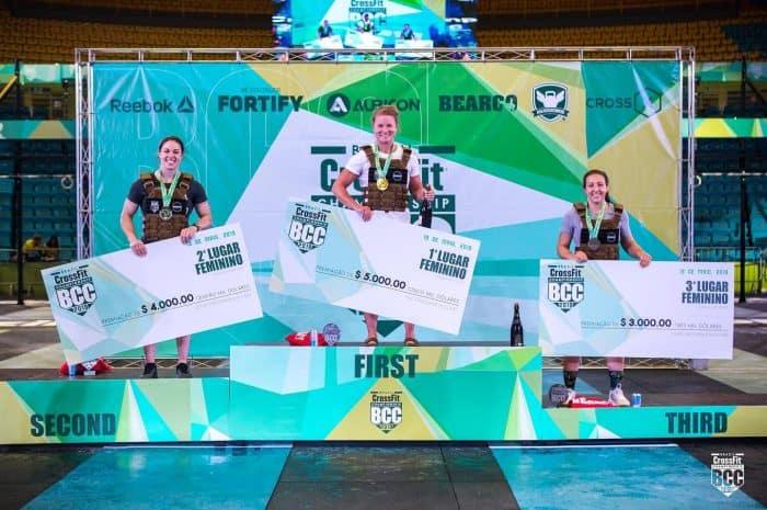 Brazil CrossFit Championship - победители среди женщин