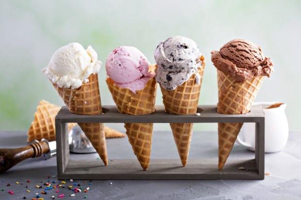 Таблица калорийности мороженого
