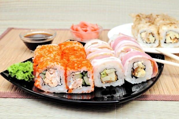 Таблица калорийности японской кухни