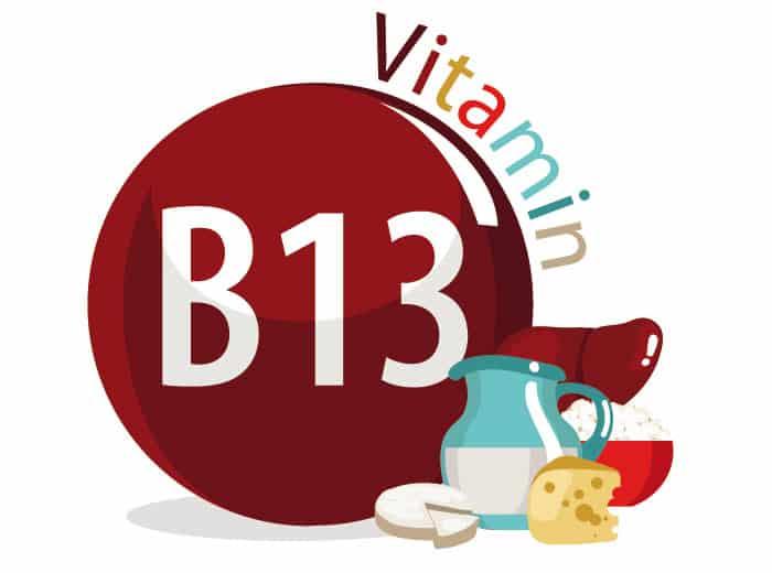 Где содержится витамин Б13