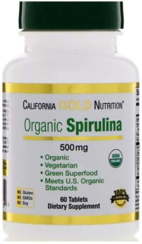 Добавка 60 таблеток california spirulina