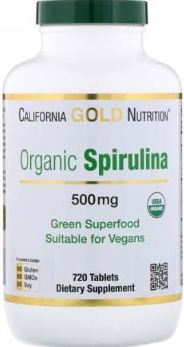 Добавка 720 таблеток california spirulina