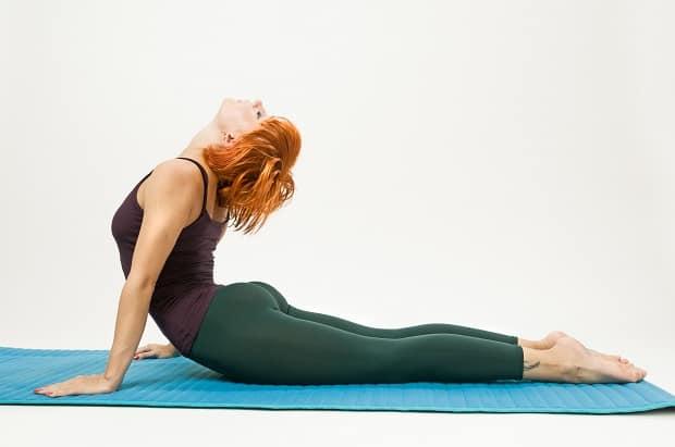 Тренировка в домашних условиях - растяжка спины