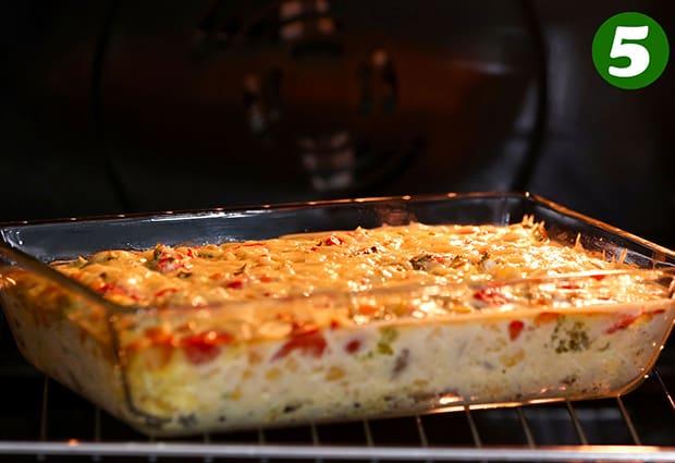 овощная запеканка в форме в духовке