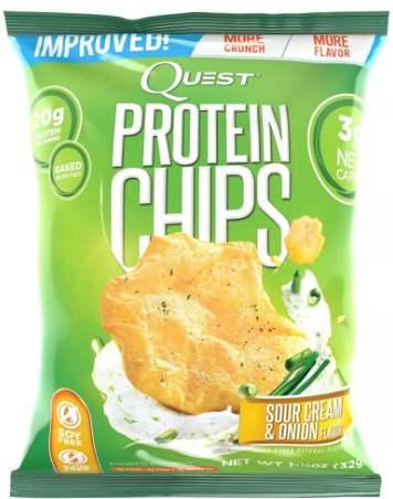 Quest Chips со вкусом сметаны и лука