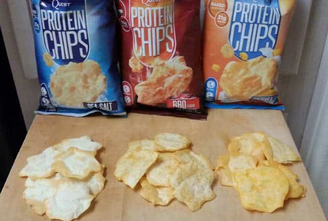 Разные чипсы Quest Chips