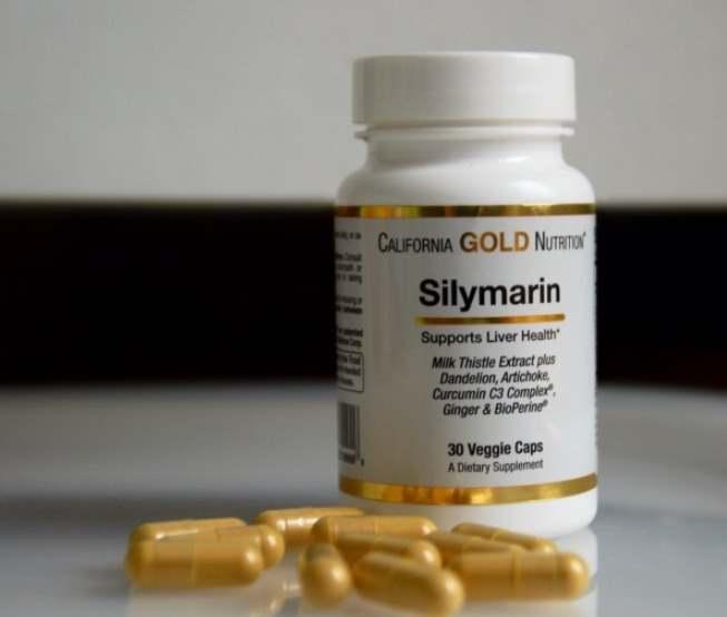 Капсулы silymarin