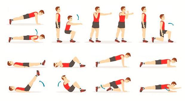 Тренировка с собственным весом в домашних условиях