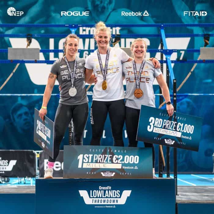 crossfit lowlands throwdown 2019 women