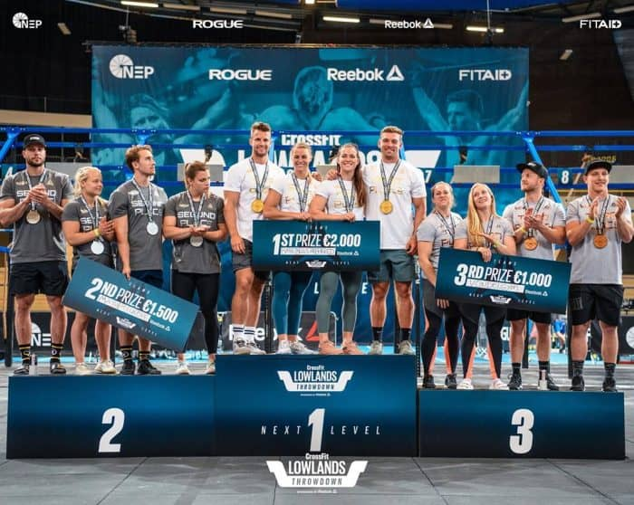 crossfit lowlands throwdown 2019-team