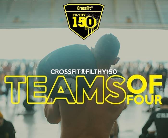 Стартовала ежегодная спортивнная лотерея CrossFit Filthy 150