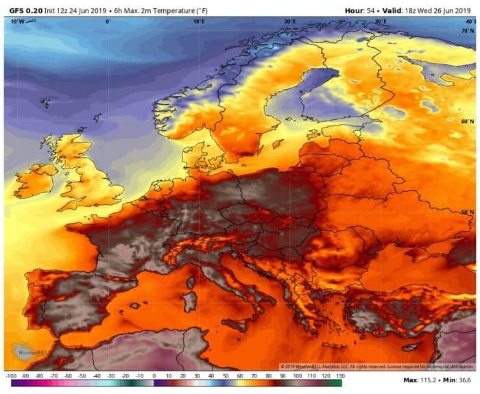 Аномальная жара во Франции ставит под угрозу French Throwdown