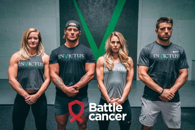 Battle Cancer и Invictus против рака