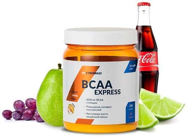 Разные вкусы bcaa express