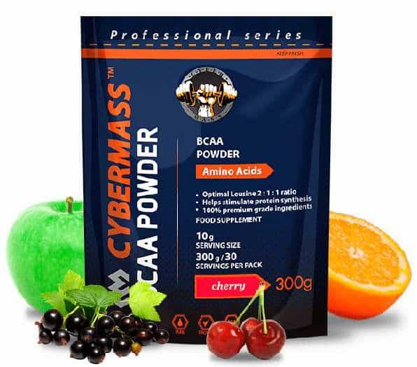 Разные вкусы Cybermass BCAA powder