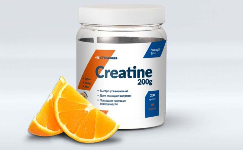 Апельсин Creatine Cybermass