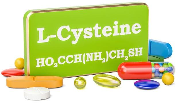 Цистеин формула и таблетки