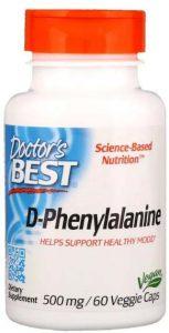 Добавка Doctor's Best, D-фенилаланин