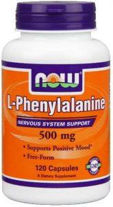 Упаковка NOW, L-Phenylalanine