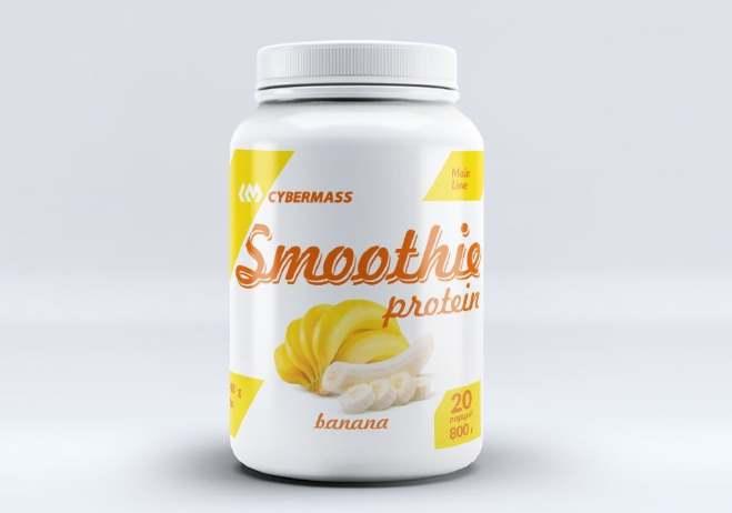 Добавка Банан Cybermass Protein Smoothie