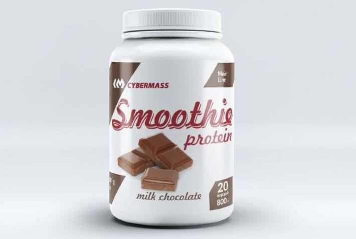 Шоколад Cybermass Protein Smoothie молочный