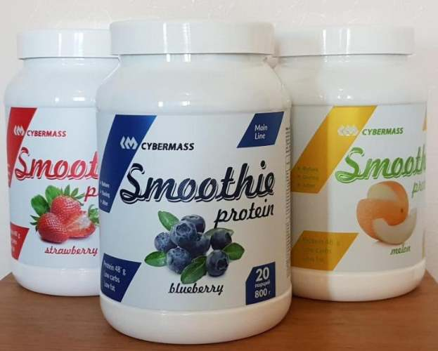 Вкусы Cybermass Protein Smoothie