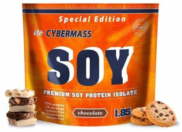 Шоколад и печенье 840 грамм Cybermass Soy Protein