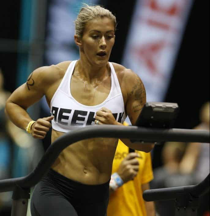 Кейтлин Ван Зил на чемпионате Австралии по кроссфиту