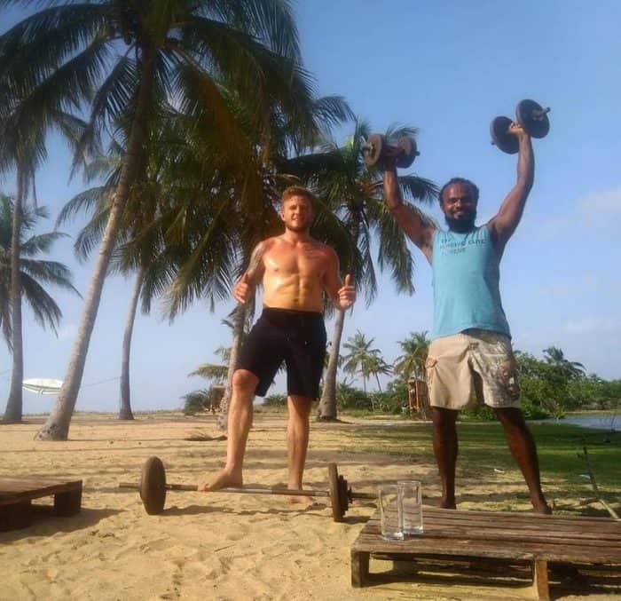 в Шри-Ланке открылся первый пляжный кроссфит-бокс