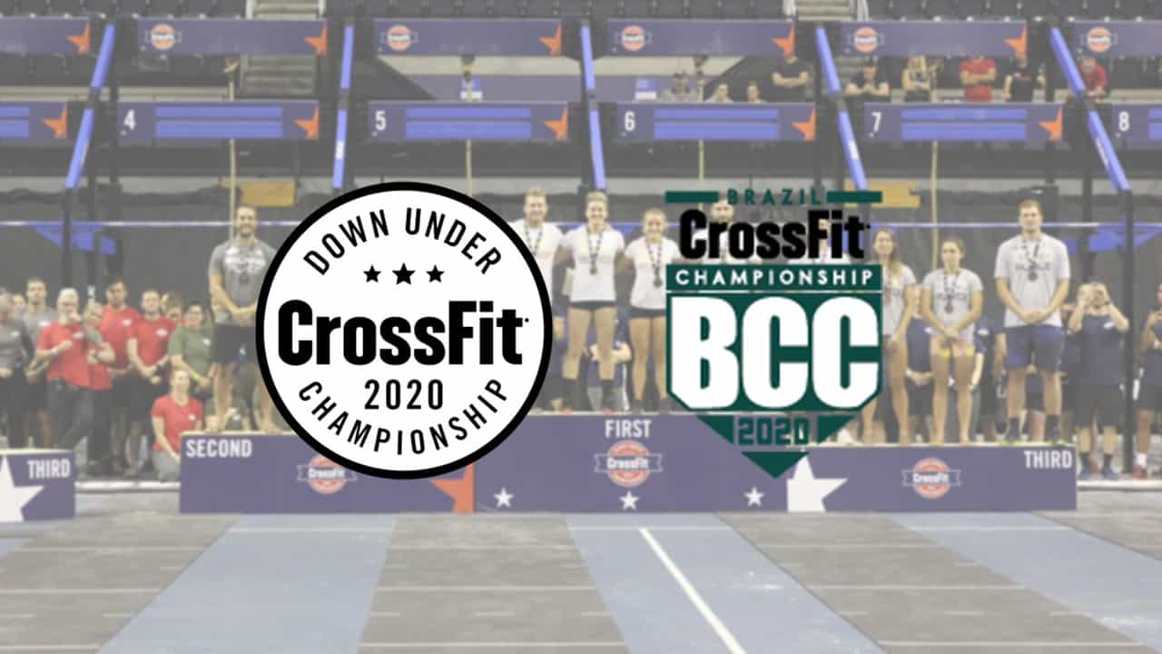 Down Under CrossFit Championship и Brazil CrossFit Championship