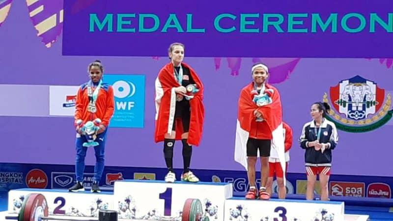 на чемпионате мира по тяжелой атлетике два мировых рекорда