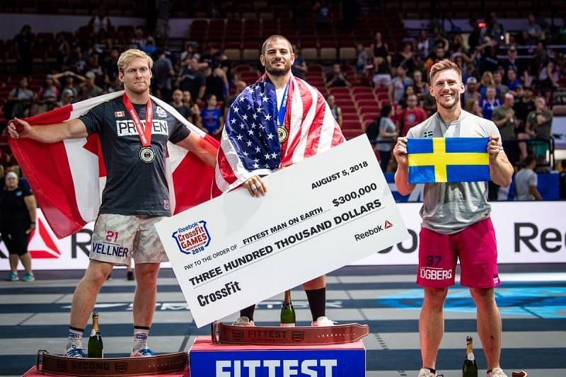 ТОП-10 спортсменов с самыми высокими призовыми