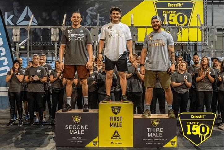 Роман Хренников на CrossFit Filty