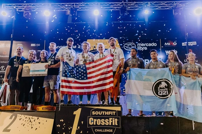 Победители SouthFit CrossFit Challenge команда Odd Squad