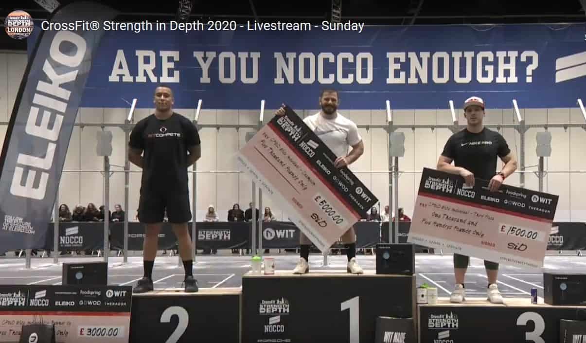 Победители CrossFit Strength in Depth 2020