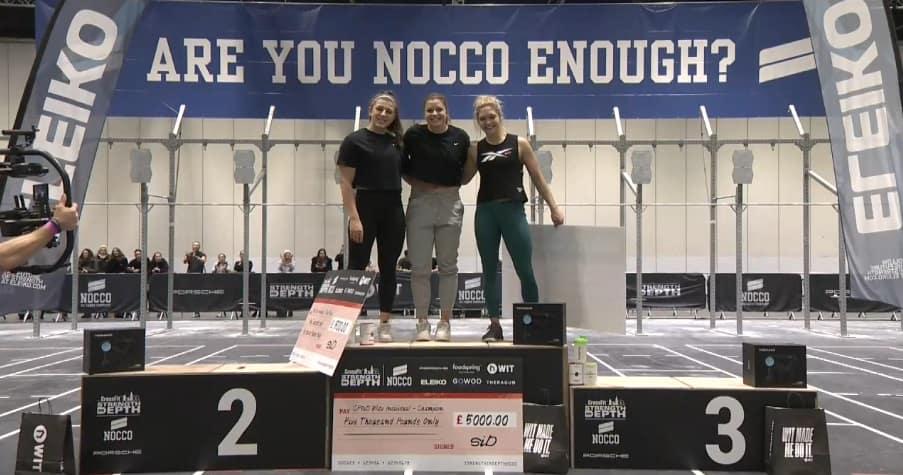 Победительницы CrossFit Strength in Depth 2020