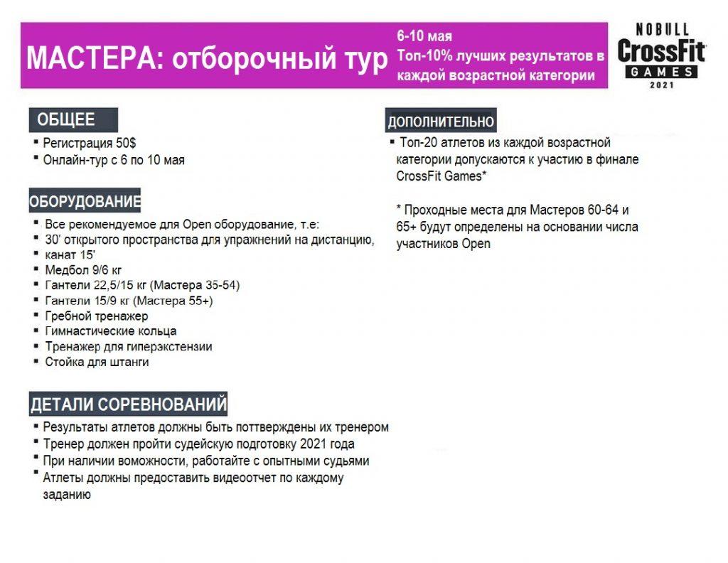 Информация для участников отборочного тура