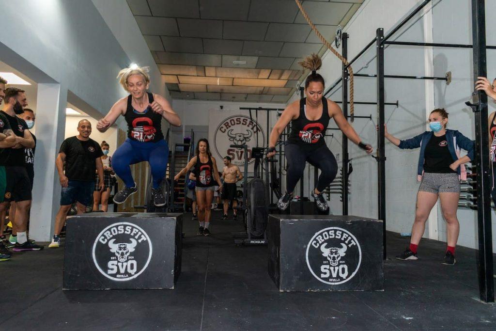 Атлеты CrossFit SVQ задали жару