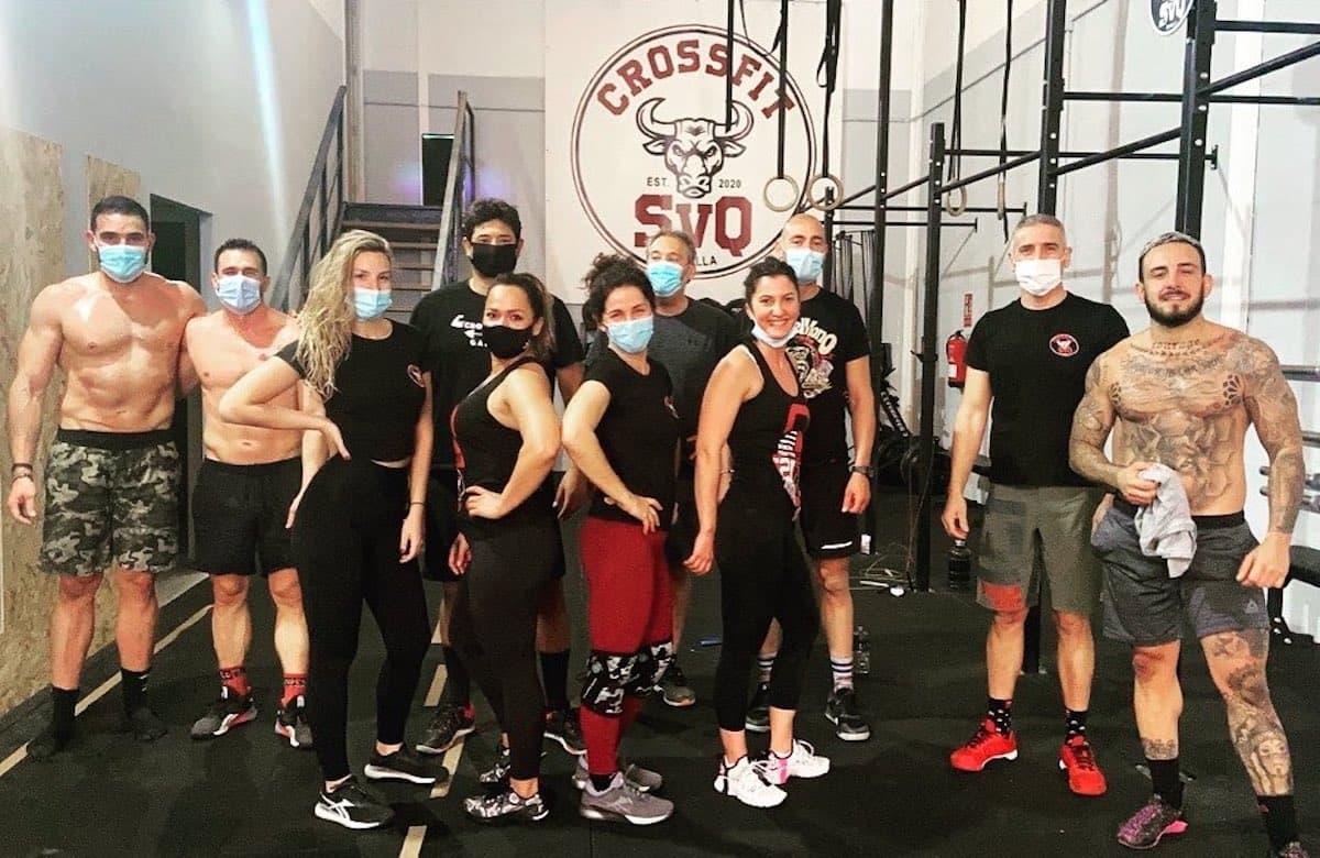 Атлеты CrossFit SVQ