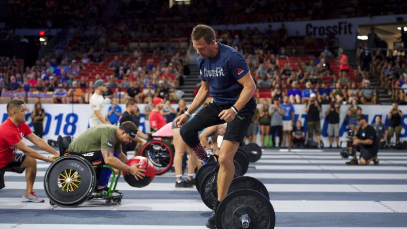CrossFit Games поздравляют победителей адаптивных соревнований