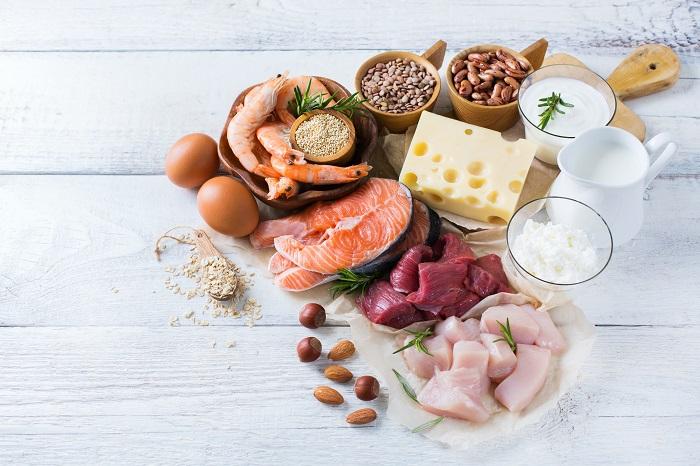 богатые белком продукты