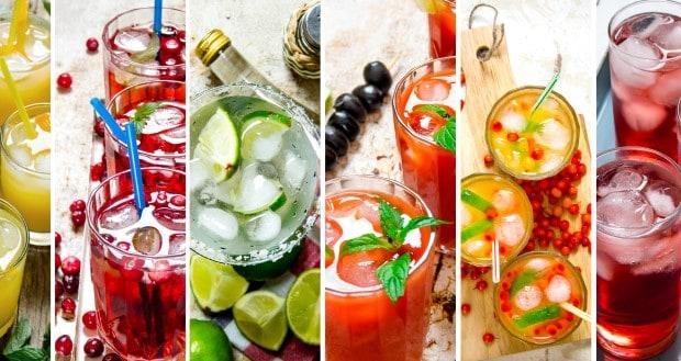 соки и лимонады